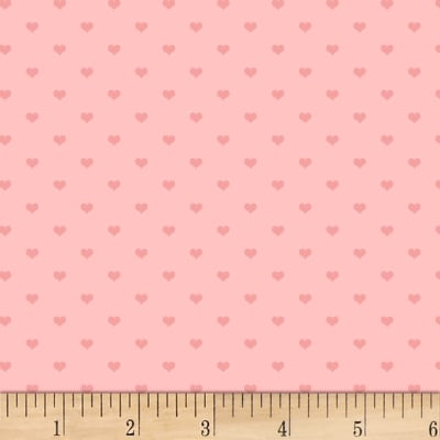 P&B Textiles Welcome Baby Baby Hearts Pink