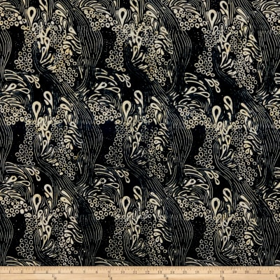 Island Batik Soul Song Dreamland Black