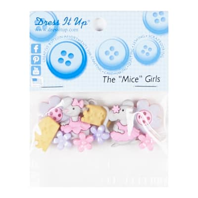 The Mice Girls 9ct Button Pack