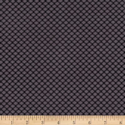 P&B Textiles Gray Matters Waffle Charcoal