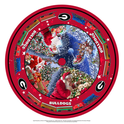NCAA- University of Georgia Christmas Tree Skirt