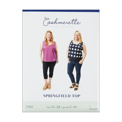 Cashmerette Patterns Springfield Top