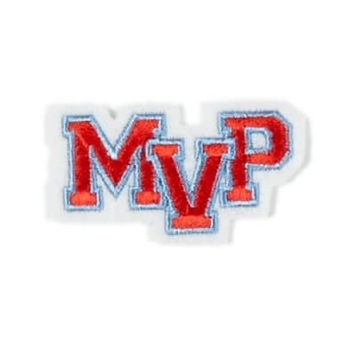 MVP Applique Patch Red