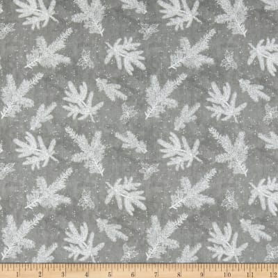 Wilmington Woodland Friends Branch Toile Gray