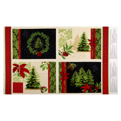 "Wilmington Festive Forest Placemat 25"" Panel Multi"