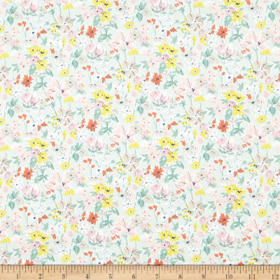 Liberty Fabrics Tana Lawn California Bloom Green