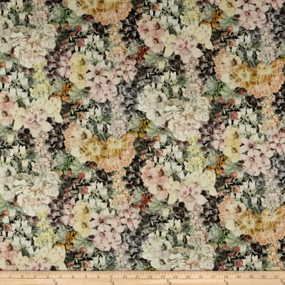 Liberty Fabrics Tana Lawn Painted Journey Cream/Multi