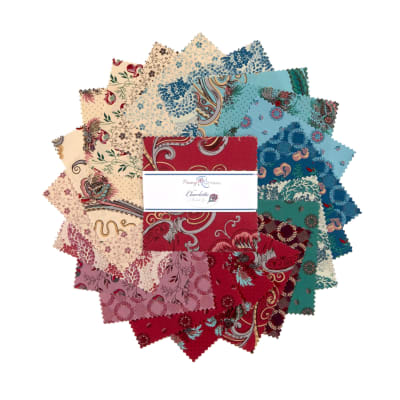 """Penny Rose Charlotte 5"""" Stackers 42 Pcs."""