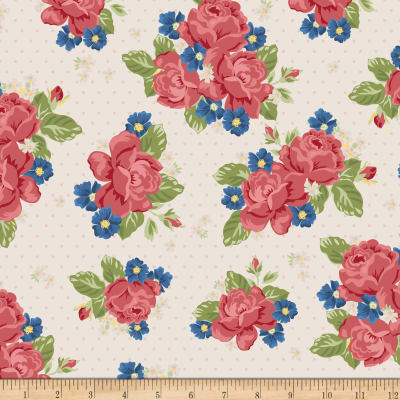 Penny Rose Harry & Alice Go To The Sea Floral Cream