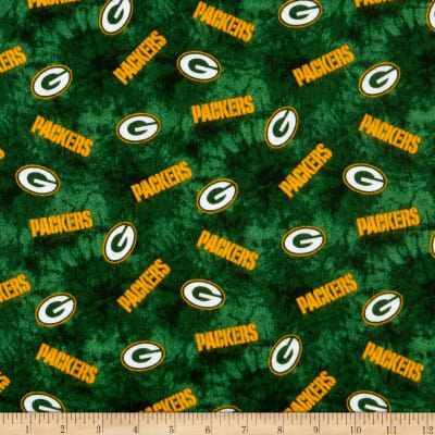 NFL Flannel Green Bay Packers Green