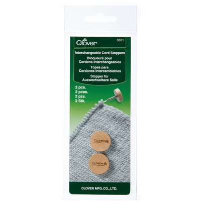 Clover Interchangeable Cord Stoppers (2pcs.)
