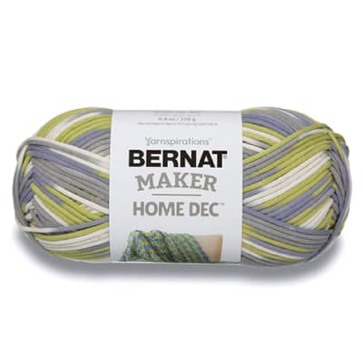 Bernat Maker Home Dec Yarn, Lilac Fence Varg