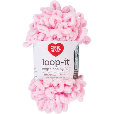 Red Heart Loop-It In The Pink