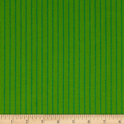 Contempo Warp & Weft Premium Yarn Dyes Green Stripe Green