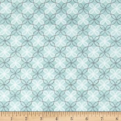 Contempo Words to Live By Trellis Turquoise