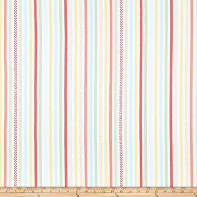 Kanvas Friendship Forest Friendship Stripe White/Multi