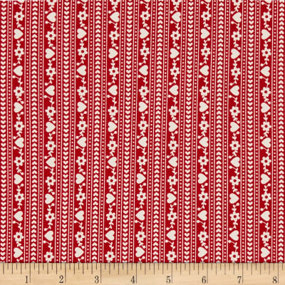 Gretel Stripe Red