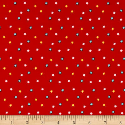 Simple Goodness Mini Flowers Red