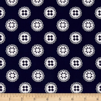 Simple Goodness Quilt Stars Navy