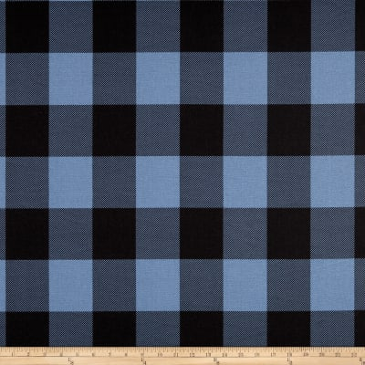 Premier Prints Buffalo Check Chill/Black