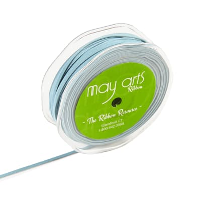 "1/8"" Faux Suede String, Light Blue (roll,50Meters)"
