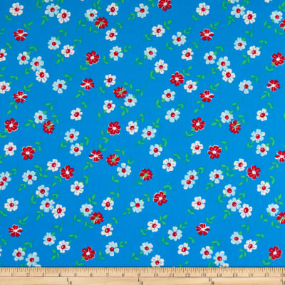 Windham Fabrics Bounce Floral Blue