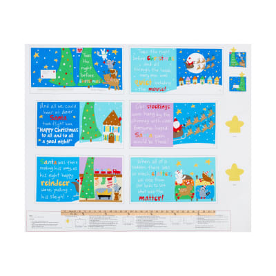 "Huggable & Lovable 36""  Night Before Christmas Book Multi"