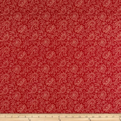 Andover Riviera Rose Small Jacobean Red