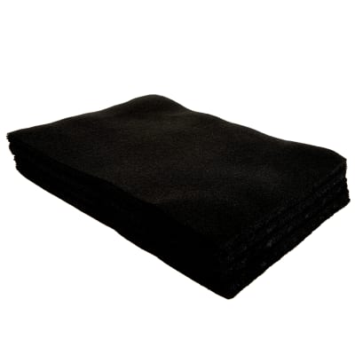 9 X 12 Black Felt Multipack 24 Pack