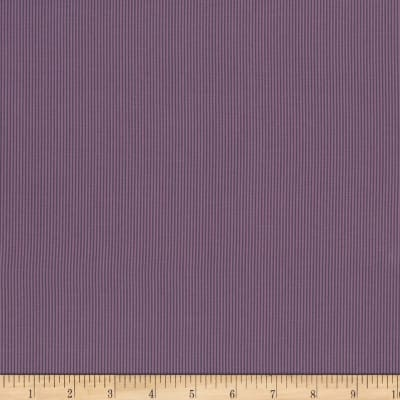 Stoffabric Denmark Quilters Basic Dusty Mini Stripe Purple