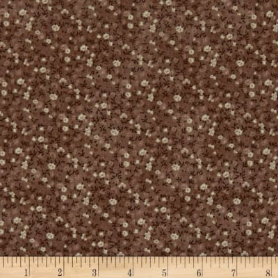 Stoffabric Denmark Quilters Basic Memory Mini Floral Taupe