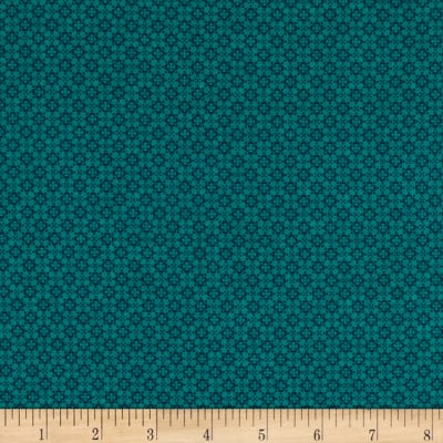 Stoffabric Denmark Quilters Basic Memory Scattered Dots Jade