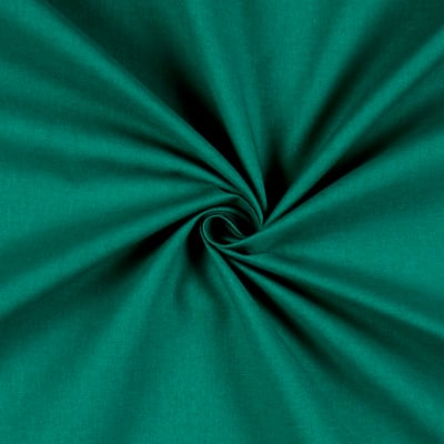 """Stof France Aquitaine 61"""" Solid Cotton Teal"""