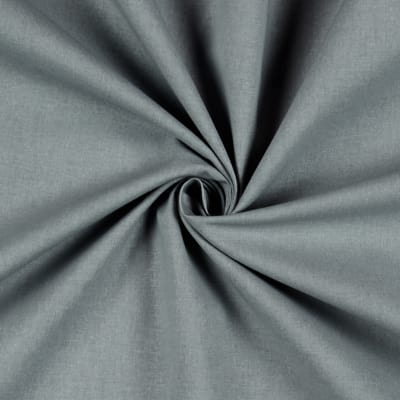 """Stof France Aquitaine 61"""" Solid Cotton Slate Grey"""