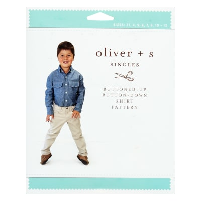 Oliver + S Buttoned-Up Button-Down Shirt (3T-12)