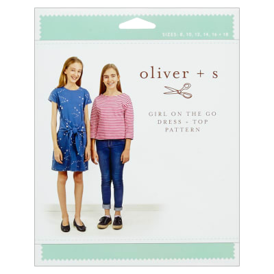 Oliver + S Girl on the Go Dress + Top Sewing Pattern (8-18)