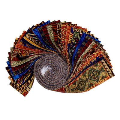 Baxter Mill Spirit Of Africa Strip Roll Multi 40 Pcs