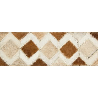 Kravet Design Diamond Leather Hide Sorrel T30760 1624