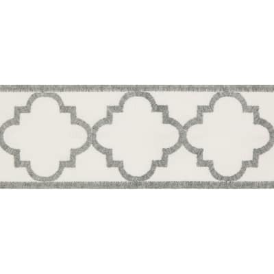 Kravet Design Indoor/Outdoor Garden Ogee Fog Mist T30793 106