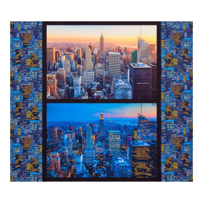 "Kaufman Cityscapes Buildings 35"" Panel Multi"