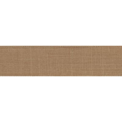 """1 1/2"""" Offray Wired Linen (Roll, 50 yards) Natural"""