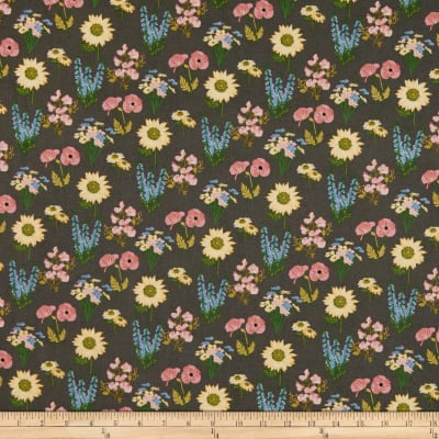 Poppie Cotton Prairie Sisters Milly Grey