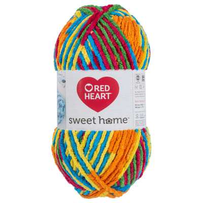 Red Heart Sweet Home Crayon
