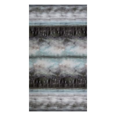 Hoffman Digital Painted Forest Forest Ombre Black Light