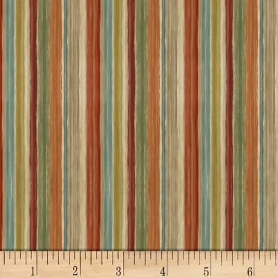 Mumbai Stripe Brown/Multi