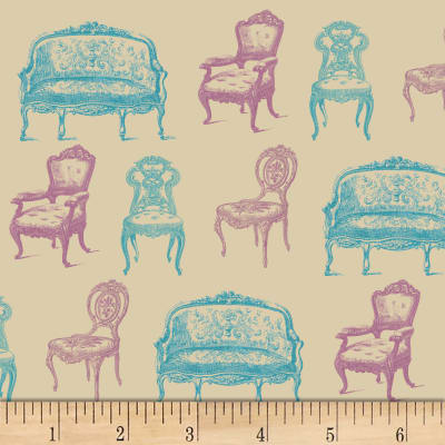 Victorian Chairs Tan