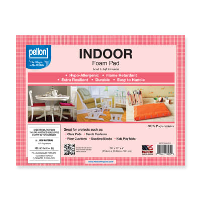 "Pellon® Indoor Foam Pad  36"" x 22"" x 4"""