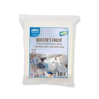 """Pellon® X - 100% Fusible Polyester Batting- High Loft.  Craft Size: 34"""" x 45"""" Package"""