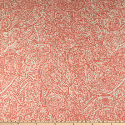 Martha Stewart Lily Pond Paisley Seagrass Coral