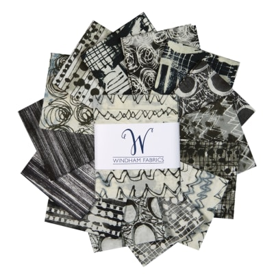 "Windham The Opposite 18"" Fat Quarter Bundle Multi 14pcs"